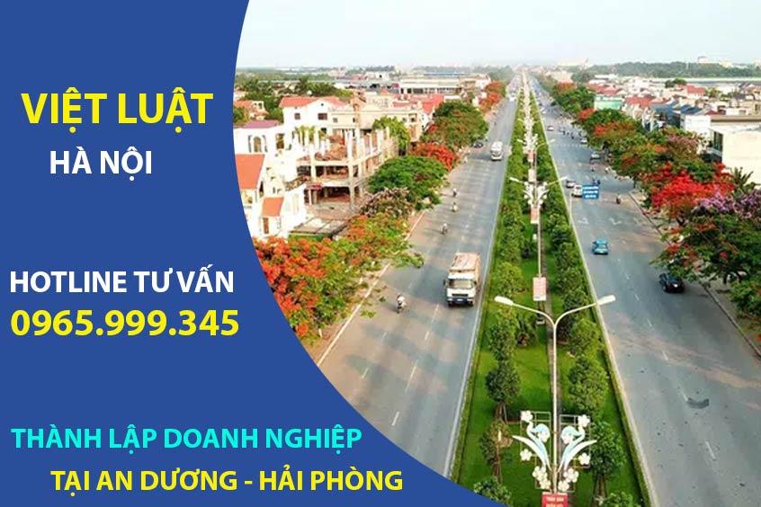 Thành lập doanh nghiệp tại huyện An Dương Hải Phòng