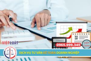 Dịch vụ tư vấn kế toán doanh nghiệp